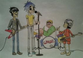 Phase 1 Gorillaz by LuCkYrAiNdRoP