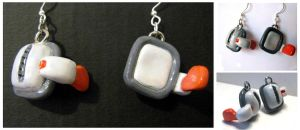 Over 18000 DBZ Scouter Earings by Mechy-Chan