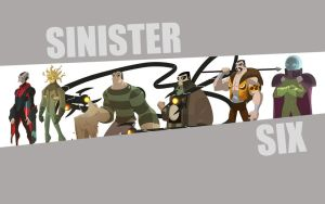 Sinister Six Desktop by MPerry85