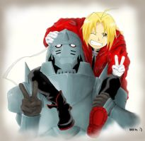 FMA: Say Cheese by Mcgooen