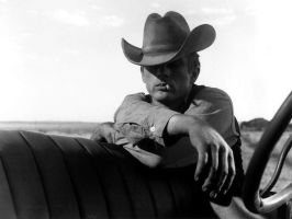 James Dean Cowboy Wallpaper by kilt3