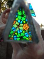 Stained glass kaleidoscope view 2 by dbayne