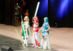 Magic Knights on stage- Otakon 2012 by Animus-Panthera