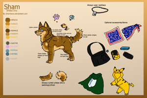 Sham bby reference sheet by Shamboro