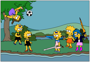 Twins vs. Simpsons Fantasy by Gazmanafc