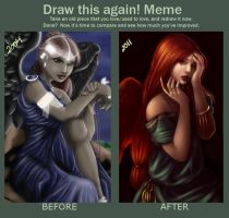 Before and After Meme by DarlingMionette