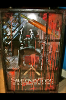 Sweeney Todd Mixed Media Piece by LynZtheMaddTatter