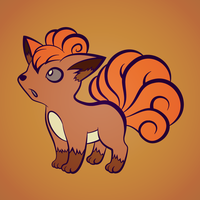 Vulpix (More lineart practice) by Krukmeister