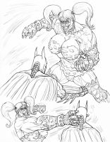titan harl vs bats finished by vic55b