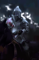 Another knight by RobertoGatto