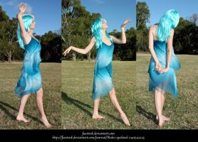 Blue Faery5 by faestock