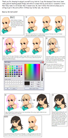 Hair Pixel tutorial of wow by AwesomebyAccident