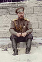 Tsar Nicholas II on the beach at Eupatoria, Crimea by KraljAleksandar