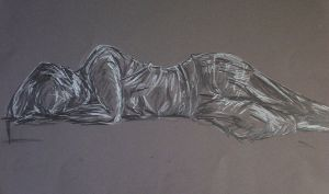 Gesture: woman lying down by Cailey5586
