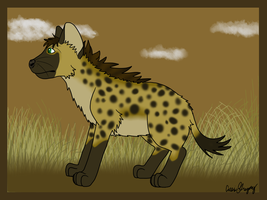 Sternentier Hyena by The-Smile-Giver