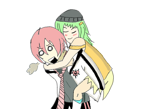 Vy2 x Gumi : Gumi is Heavy by Lenkahime