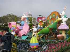 MOAR EASTER IN TOKYO by Shinigamichick39