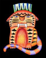 Sabre Tooth Garfield by YoAdrienne