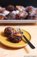 Fried Chocolate Apple Bomb by munchinees