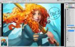 Brave WiP~! by JowieL