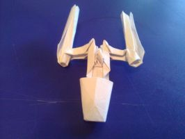 Origami Y-Wing by taerkitty