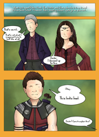 The Doctor and Clara meet Robin Hood (DW/Marvel) by ice-cream-skies
