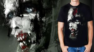 Resident evil zombie T-shirt by carlibux