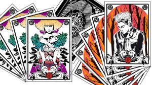 New Project (in process) - Kpop Deck of cards by Hyung86