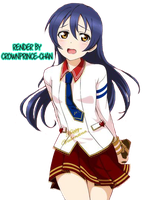 [RENDER] Sonoda Umi #246 (Love Live) by crownprince-chan