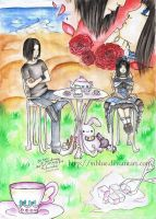 Tea Party with Bunny by ViBlue