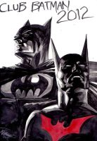 J.K.Woodward Batman Beyond by Club-Batman