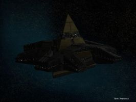 Goa'uld Mothership by Mallacore