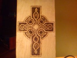 Celtic cross by Lordnarunh