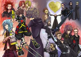Kingdom Heart by ihirotang