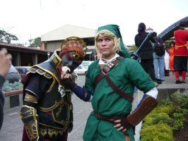 Funny Ganondorf and Link by Brillita