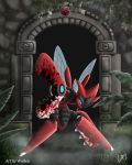 Mega scizor - pokemon v2 by Wolfen-C