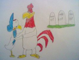 Foghorn's Nieces- Death Scene by nintendolover2010