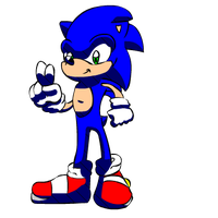 sonic riders first attempt by thefallenone3296