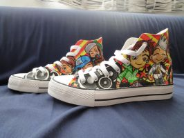 bigbang chibi shoes by yondaimejyll