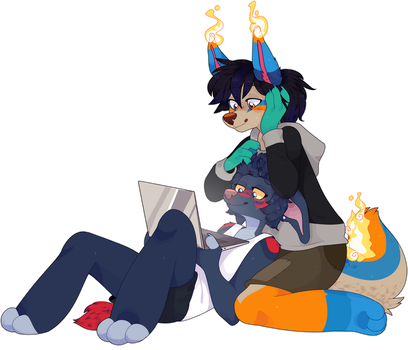 Netflix and chill by iyd