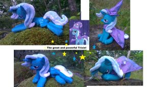 The great and powerful trixie! beanie edition by Epicrainbowcrafts