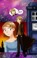 The twelfth Doctor by mirrowdothack
