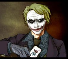 The Joker by zengen