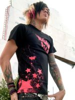Splatterstar Remix Shot by BleedingStarClothing