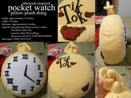 Tik Tok Pillowatch by indulging-inaccuracy