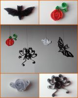 Quilling - Halloween by Sszymon14