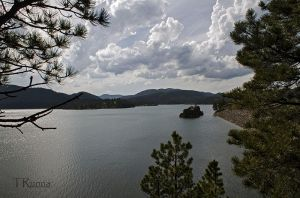 Lake Pactola  by TRunna