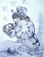 Captain America by TicoDrawing