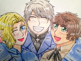 Aph Bad Touch Trio by Nutmeg9