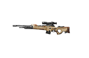 Shadowrun Ares Desert Strike Sniper Rifle by raben-aas
